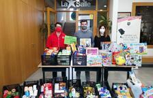 Recogida de alimentos y juguetes en La Salle