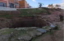 Alcarràs inicia la recuperación del pozo de hielo del siglo XVII