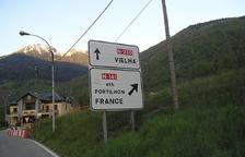 El pas d'Eth Portilhon, a Bossòst, tancat per una alerta terrorista