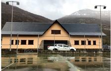 Inversión de 50.000 € en mejorar el edificio polivalente de Les