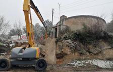 Biosca repara las fugas del depósito municipal de agua