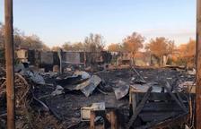 El fuego en la protectora de Mata de Pinyana calcina la zona de curas