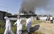 5 muertos en un incendio en la mayor fábrica de vacunas del mundo
