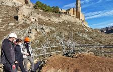 Castelló de Farfanya consolida la Torre Morisca per evitar el col·lapse