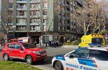 Una conductora de edad avanzada pierde el control del coche y hiere a varias personas