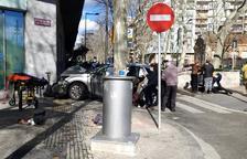 Ocho peatones heridos en un atropello múltiple en Reus