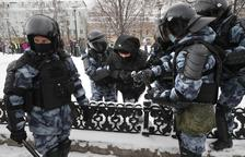 Más de 4.300 detenidos en Rusia por exigir la liberación de Navalni
