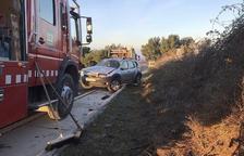 Dos heridas en accidentes en Agramunt y Oliana