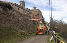 Cierran el acceso a las murallas de Torà para iniciar la rehabilitación