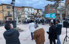 Protestes per la falta d'ajuts pels danys del Filomena a les oliveres