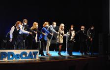 Acto de campaña del PDeCAT en Mollerussa, con Àngels Chacón