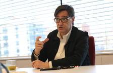 Salvador Illa: «Ja veurem quins límits posem als suports per a una investidura»