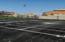 Golmés habilita un parking en la zona del campo de fútbol