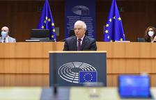 """L'Eurocambra carrega contra Borrell pel seu """"fracassat"""" viatge Moscou"""