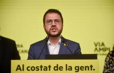 """Pere Aragonès vol un govern de """"via àmplia"""" amb ERC, Junts, CUP i comuns"""