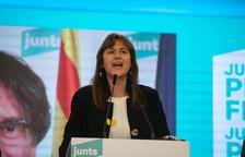 Borràs i Puigdemont analitzen l'estratègia per pactar amb ERC, que rebutja al PSC