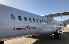 Una aerolínia s'estrena a l'aeroport de la Seu