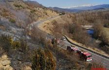 Tres incendis a Prullans, Granyanella i Torà calcinen 15 hectàrees de vegetació