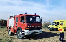 Detonación de los Tedax de los Mossos en Aitona