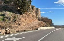 En marcha las obras para fijar la muralla del castillo de Saidí