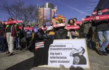 Les peticions de llibertat per a Pablo Hasel arriben a Brussel·les