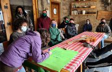 Quince nuevos alumnos aprenden a ser pastores en el Pallars Sobirà