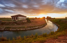 El Canal d'Urgell acaba obras por 3,8 millones para iniciar la campaña este mes