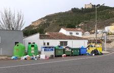 Mequinensa alerta del mal ús de contenidors
