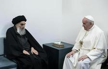 Encuentro histórico en Irak del papa y el ayatolá chií al Sistani