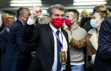Joan Laporta, guanyador de les eleccions a la presidència del FC Barcelona