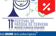 Segre os invita al undécimo Festival de Pascua de Cervera