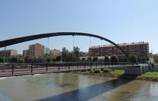Invierten 80.000 euros en reparar una de las pasarelas de Balaguer