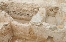 Noves troballes al costat de la torre de Castelló de Farfanya