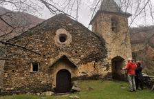 Alins pide consolidar con urgencia la iglesia de Besan