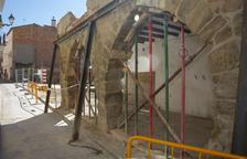 Agramunt derriba tres casas antiguas y ampliará un parking
