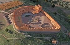 Així era el poblat ibèric dels Estinclells de Verdú fa 2.300 anys