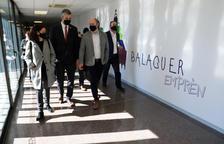 Solé avala el centro de apoyo empresarial de Balaguer