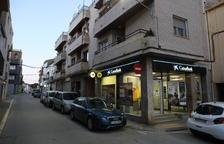 Detenidos dos vecinos de Lleida por robar en un banco de Alcoletge