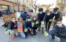 Campaña de escolares a favor de la sostenibilidad en Guissona