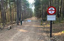 Barreres al Parc de l'Alt Pirineu per evitar turistes amb cotxe i moto