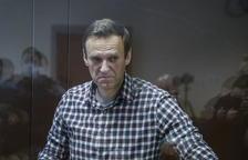 La oposición teme por la vida de Navalni en la cárcel