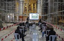 El Palau muestra a los vecinos las obras en la iglesia