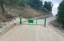 Algerri cierra el acceso al castillo por el riesgo de desprendimientos