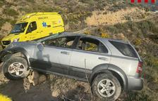 Aparatosos accidents de trànsit a Térmens, Castell de Mur i la Pobla