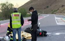Dos motoristas graves en choques en Balaguer y Castelldans