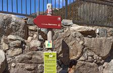 Alumnes de gestió forestal del Pont milloren senders de la comarca
