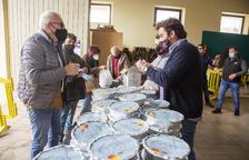 'Cassola de tros' para llevar en Anglesola