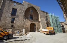 El castillo de Les Pallargues recupera su fachada original