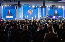 """Putin avisa a Occidente: """"La respuesta va a ser asimétrica, rápida y dura"""""""