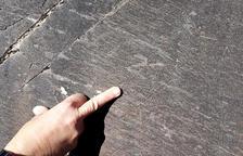 Documentan cerca de 4.000 grabados medievales en un lugar rocoso del Pirineo